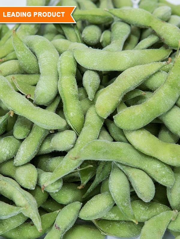 IQF Edamame(Soybeans)