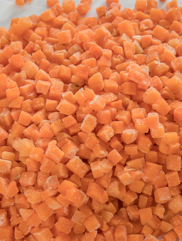 Frozen carrot manufacturers tell you what are the effects of healthy carrots?